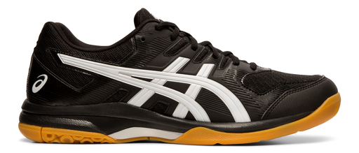 Asics Men's Gel-Rocket 9 Indoor Court Shoes in Black/White
