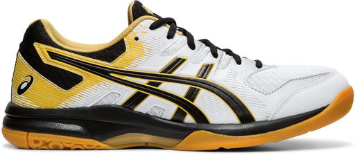 Asics Men's Gel-Rocket 9 Indoor Court Shoes in White/Black