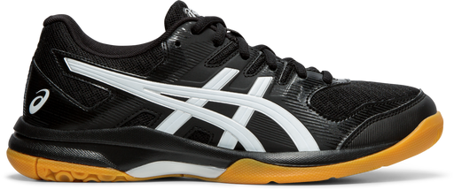 Asics Women's Gel-Rocket 9 Indoor Court Shoes in Black/White