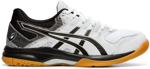 Asics Women's Gel-Rocket 9 Indoor Court Shoes in White/Black