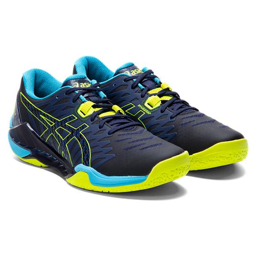 Asics Men's Gel Blast FF 2 Indoor Court Shoes in Black/Safety Yellow