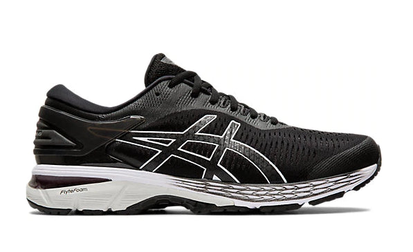 Asics Men's GEL-KAYANO 25 Black/Glacier Grey Running Shoes - atr-sports
