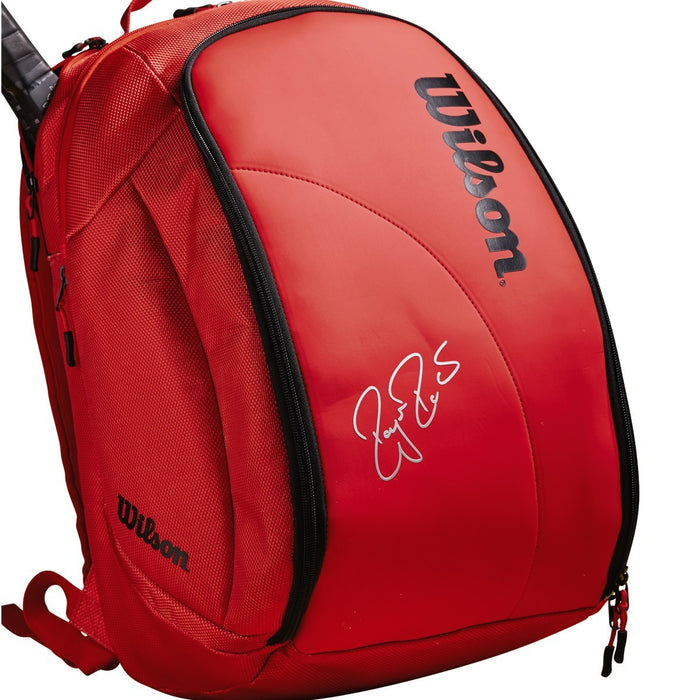 Wilson Federer DNA Backpack in Infrared - atr-sports