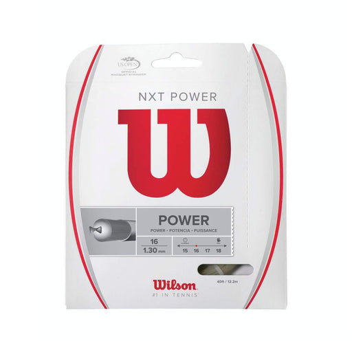 Wilson NXT Power 16 Tennis String Set - atr-sports
