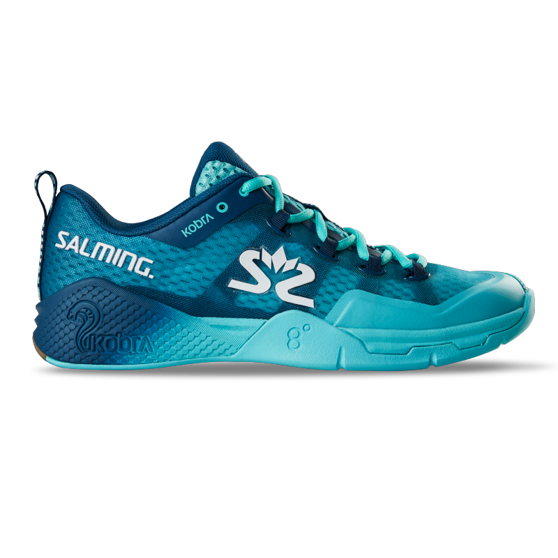 Salming Men's Kobra 2 Indoor Court Shoes 2019 (Dark Blue/Blue)