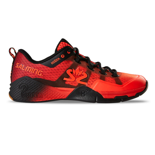 Salming Men's Kobra 2 Indoor Court Shoes 2019 (Lava Red/Black)