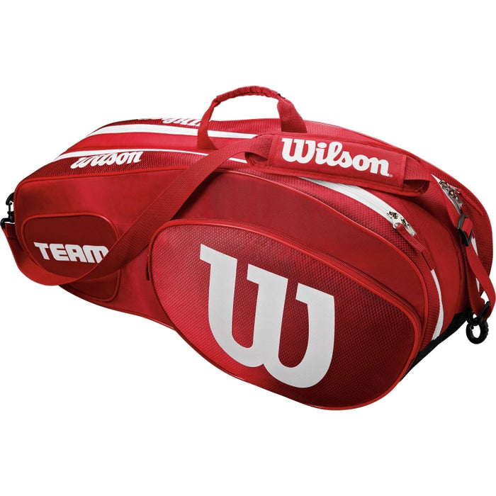 Wilson Team three 6 Pack  Racquet Bag - atr-sports