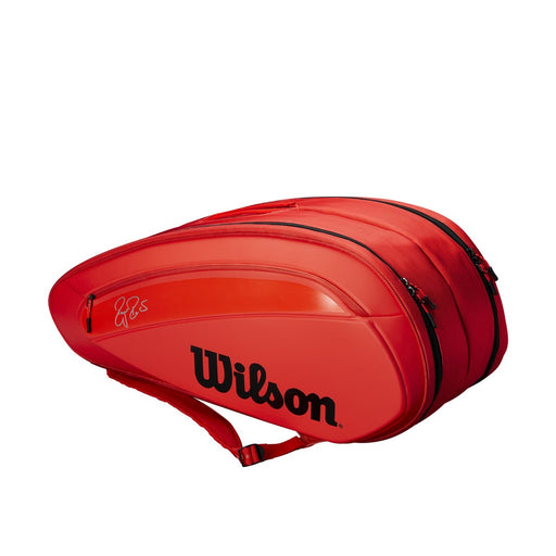 Wilson Federer DNA 12 Pack Infrared Tennis Bag - atr-sports