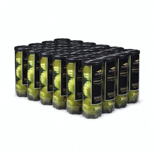 Wilson US Open Regular Duty 3 Tennis Ball Case - 24 Cans - atr-sports