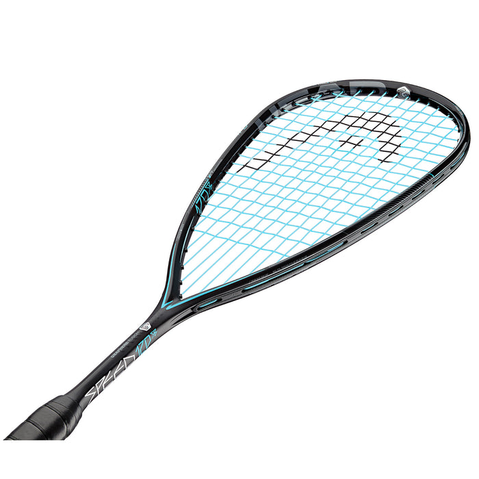 Head Graphene Touch 360 Speed 120 Slim Body Squash Racquet (Black/Blue) - atr-sports