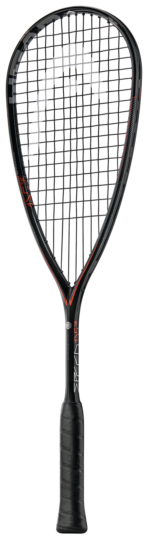 Head Graphene Touch 360 Speed 135 Slim Body Squash Racquet (Black/Red) - atr-sports