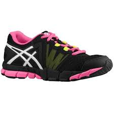 Asics Women's Gel-Craze TR Training Shoes in Black/White/Hot Pink - atr-sports