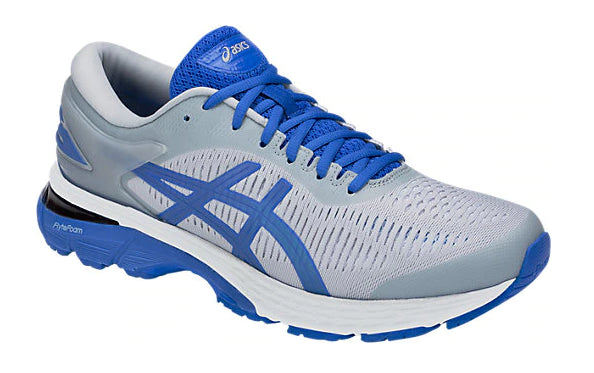 Asics Men's Gel-Kayano 25 Lite-Show  Running Shoes in Mid Grey/Illusion Blue - atr-sports