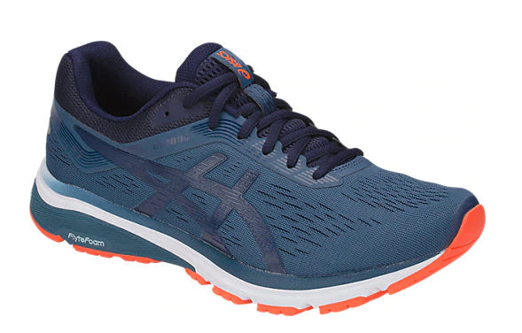 Asics Men's GT-1000 7 Grand Shark/Peacoat Running Shoes - atr-sports