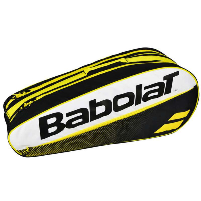 Babolat Racket HolderX 6 Club Bag in Yellow - ATR Sports