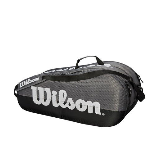 Wilson Team 2 Compartment Racquet Bag in Grey/Black - atr-sports