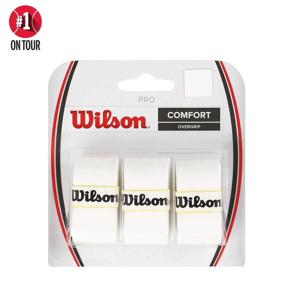 Wilson White Pro Overgrip - atr-sports