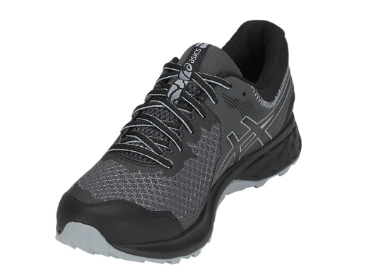 Asics Men's M. GEL-SONOMA 4 Black/Stone Grey Running Shoes - atr-sports