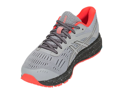 Asics Men's Gel-Cumulus 20 Marathon Running Shoes in Mid Grey/Dark Grey - atr-sports