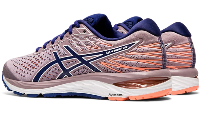 Asics Women's Gel-Cumulus 21 (2A) Running Shoes in Violet Blush/Dive Blue - atr-sports