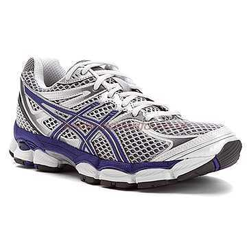 new product a68fb 3f2f2 Asics Women's Gel-Cumulus 14 width D Running Shoes in  Lightning/Purple/Silver