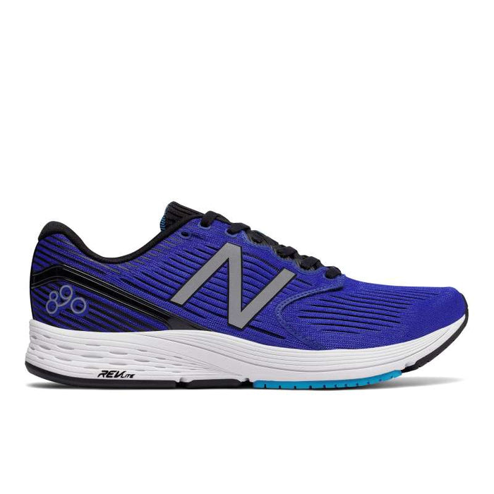 New Balance Men's M890BB6 Running Shoes in Pacific Maldives Blue/Black - atr-sports