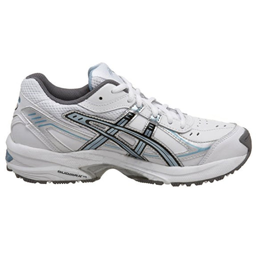 Asics Women's Gel-150 TR (D) Training Shoes in White/Blue/Silver - atr-sports