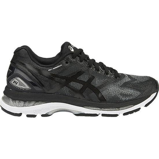 Asics Women's Gel-Nimbus 19 Running Shoes in Black/Onyx/Silver - ATR Sports