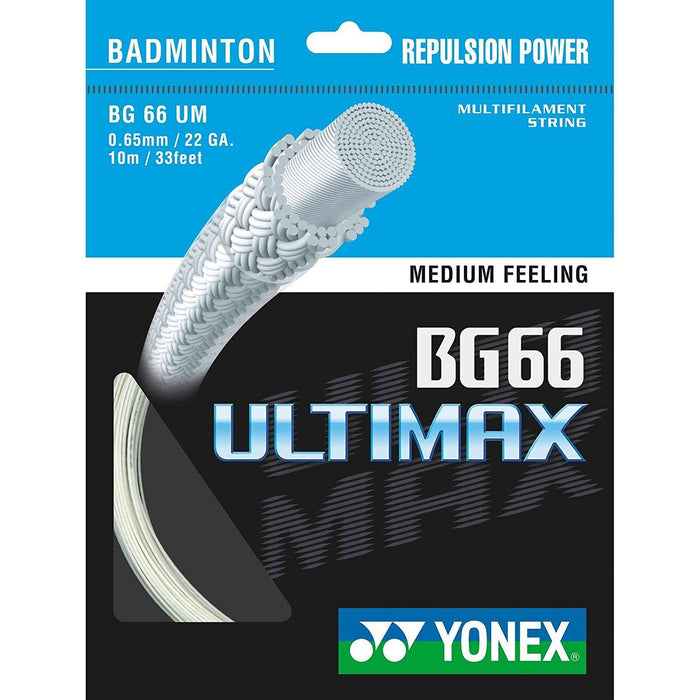 Yonex Badminton String BG66 Ultimax 10m-ATR Sports