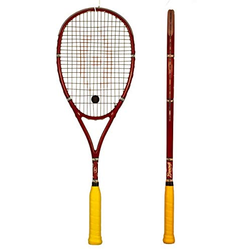 Harrow Bancroft Players Special Squash Racquet in Red - atr-sports