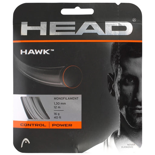 Head Hawk 18 Tennis String in White - atr-sports
