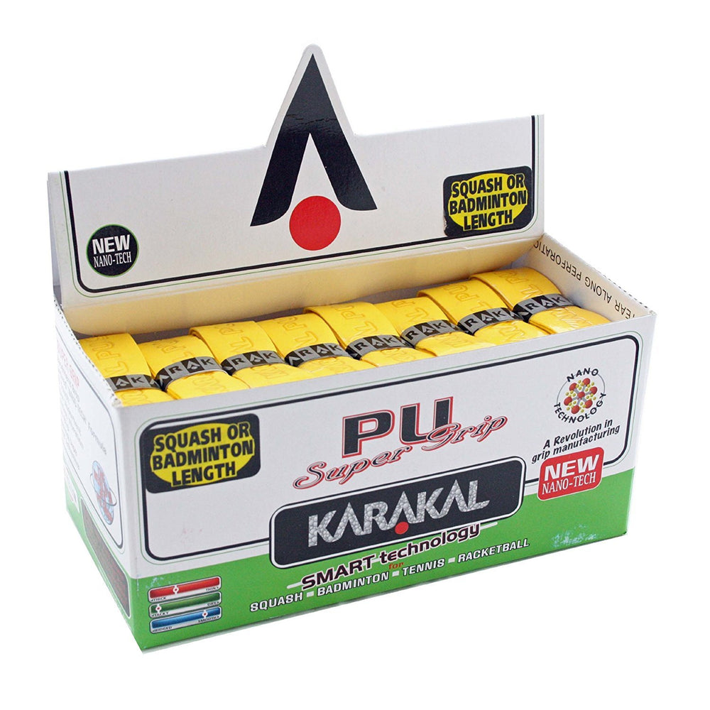 Karakal PU Super Grip Replacement Grip 24 Pack - atr-sports