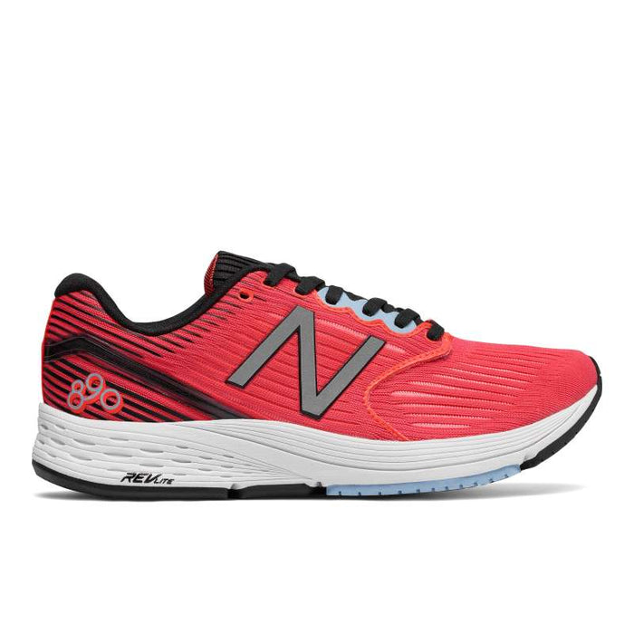 New Balance Women's W890CB6 Running Shoes in Coral Black/Clear Sky - ATR Sports