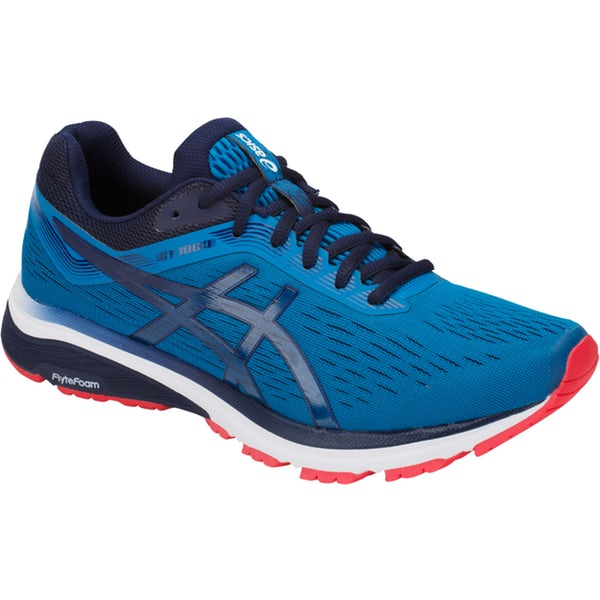Asics Men's Gt-1000 7 Width D Running Shoes in Race Blue/Peacoat - atr-sports