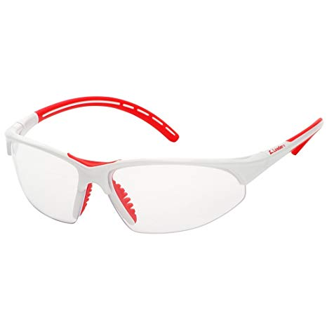 Z Leader Pro Sport Eye Guard (Clear/Red) - atr-sports