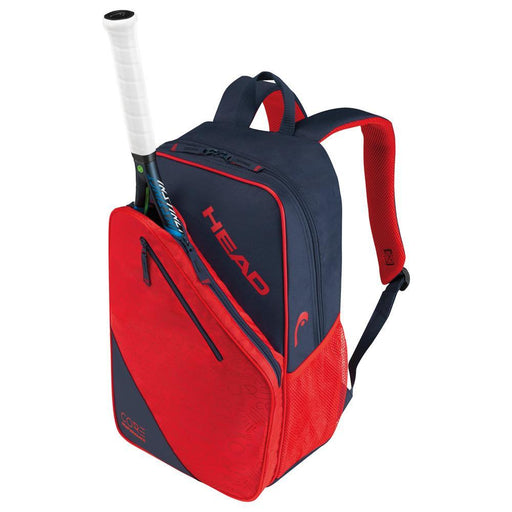 Head Core Tennis Backpack in Navy/Red - atr-sports