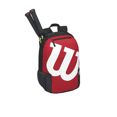 Wilson Match 2 Backpack in Black/Red - atr-sports