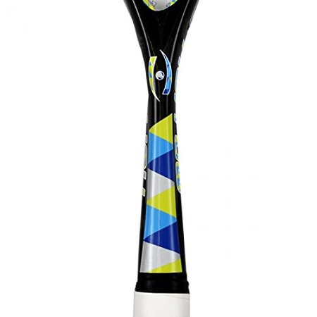 Harrow Silk Squash Racquet in Black/Blue/Lime - atr-sports
