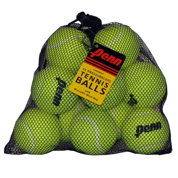 Penn Pressureless Mesh Bag - 12 Tennis Ball Bag - atr-sports