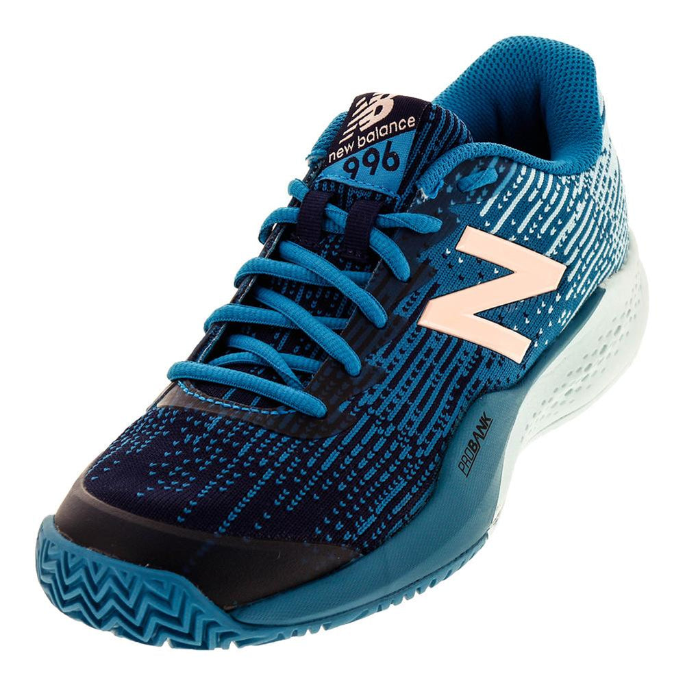New Balance Women's 996 V3 Tennis Shoes in Blue - atr-sports