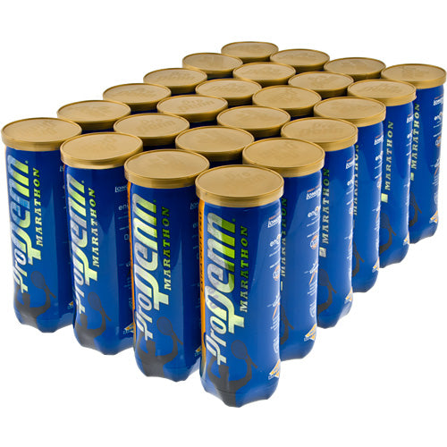 Pro Penn Marathon Extra Duty 3 Tennis Ball Case - 24 Cans - atr-sports