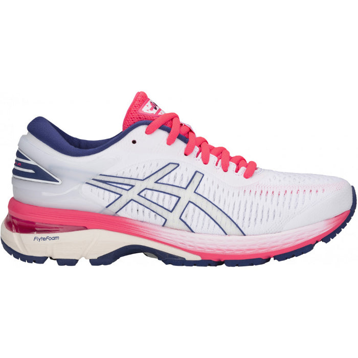 Asics Women's Gel-Kayano 25 Running Shoes in White/White - atr-sports