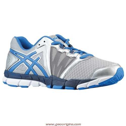 Asics Men's Gel-Craze TR Training Shoes in Silver/Indigo/Marina Blue - atr-sports