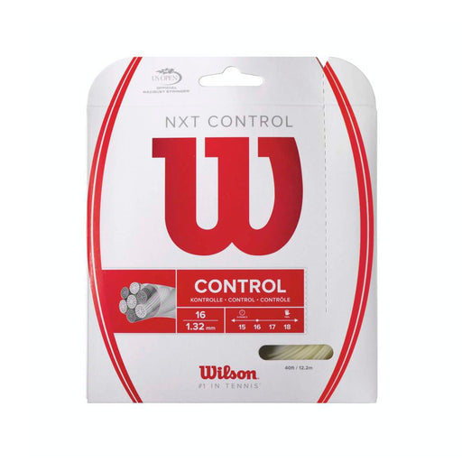 Wilson NXT Control 16 Tennis String Set - atr-sports