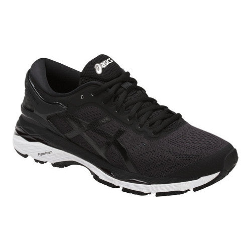 Asics Women's Gel-Kayano 24 Running Shoes in Black/Phantom/White - ATR Sports