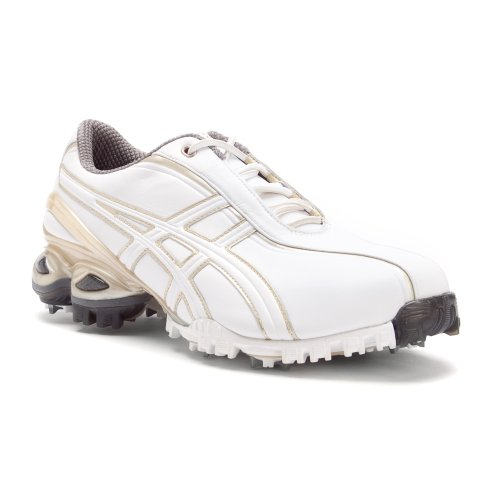 Asics Women's Gel-Ace Golf Shoes in White/Champagne Gold Size 6 - atr-sports