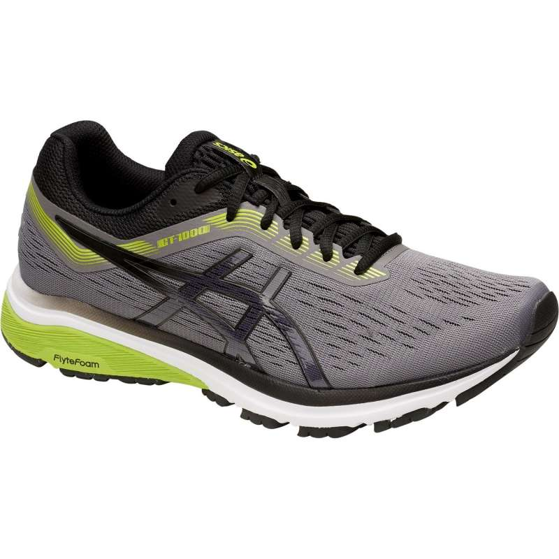 Asics Men's GT 1000-7 Width 4E Running Shoes  in Carbon/Black - atr-sports