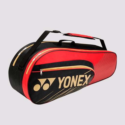 Yonex 6 Piece Racquet Bag in Black/Red - atr-sports