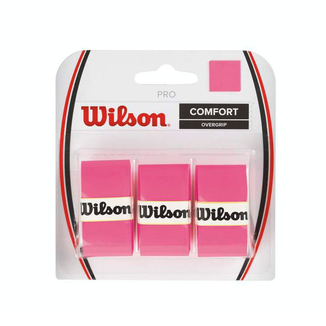 Wilson Pro Overgrip in Pink-ATR Sports