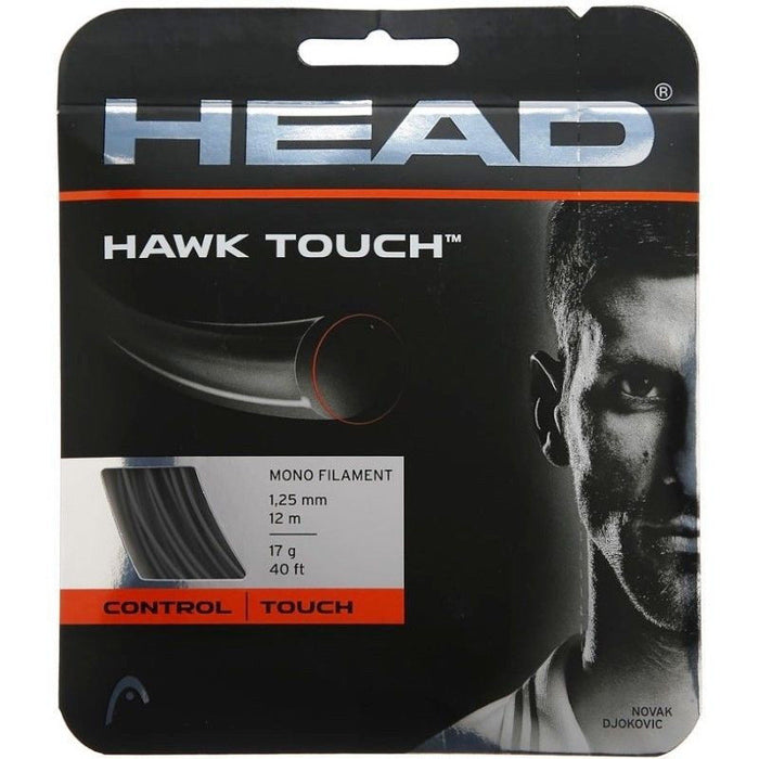 Head Hawk Touch 18 Tennis Strings in Red - atr-sports
